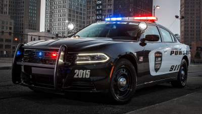2015 Dodge Charger Pursuit - US Police Car Revealed