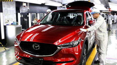 Second-Generation Mazda CX-5 Production Begins In Japan