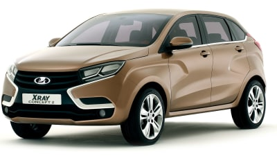 Lada XRAY 2 And Vesta Concepts Unveiled In Moscow