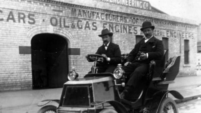 The story of Australia's first car