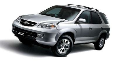 2003 Honda Accord, MDX recalled for Takata airbags