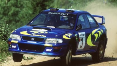 Subaru's First WRC Car Up For Sale