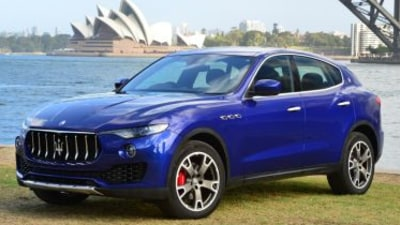 Maserati Levante to double local sales target