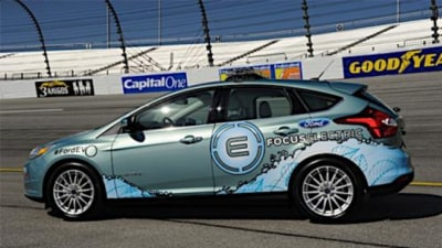 Ford Focus Electric Makes Pace Car Debut, Australian Launch On The Cards