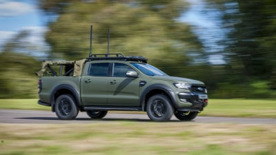 Ford Ranger gets the military treatment - and it could come to Australia