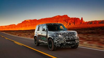 Land Rover Defender (almost) revealed