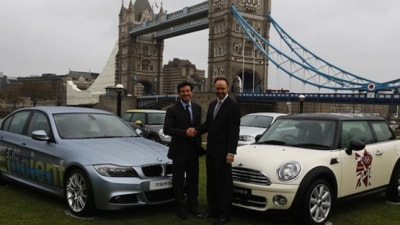 BMW Named Automotive Partner For 2012 London Olympics