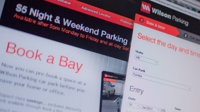 Book A Parking Space From Cyber Space