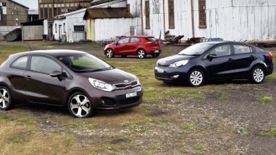 2012 Kia Rio 3-Door And Sedan Hit Australia, SLS Variant Joins Range