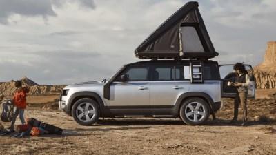 2021 Land Rover Defender 110 gets roof tent option