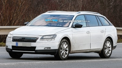 New Skoda Superb Wagon Spied Testing, July Debut Expected