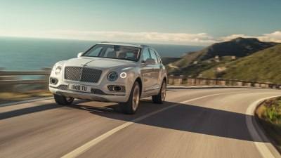 Bentley Bentayga goes green