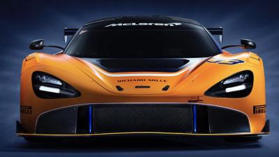 McLaren unveils 720S GT3 racer