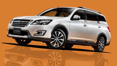Subaru Exiga Crossover 7 SUV Launched In Japan