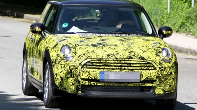 2014 MINI Cooper Spied During Testing