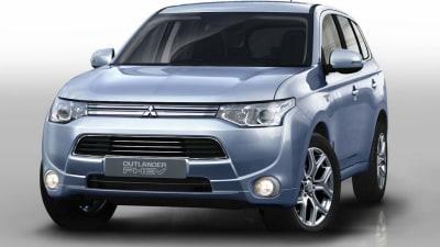 Mitsubishi Outlander Plug-in Hybrid EV Teased In Paris Preview
