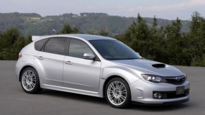 2008 WRX STi making first Australian appearance at BIMS