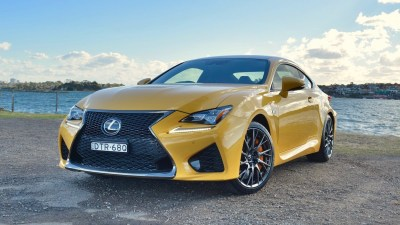 Lexus RC F 2018 new car review