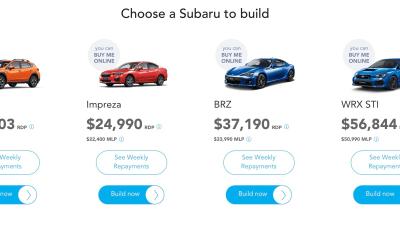 Subaru moves to dealerless shopping