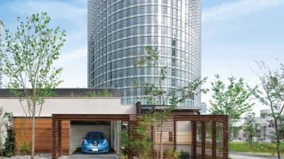 Nissan Leaf EV Powers Japanese Concept Home