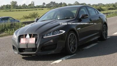 Jaguar XFR-S Spied Testing