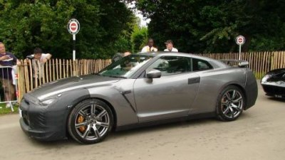 2008 Nissan GT-R at Goodwood Festival of Speed