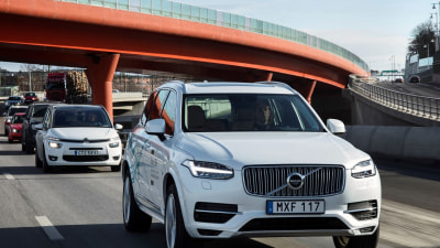Volvo And Uber Team Up On Autonomous Cars