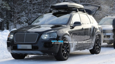 Bentley Considering Smaller SUV To Join New Bentayga