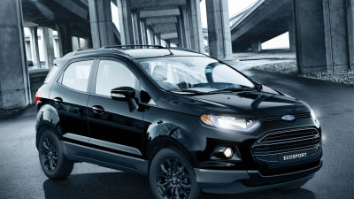Tough-Looking Shadow Model Boosts Ford's EcoSport Lineup