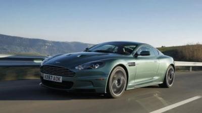 Aston Martin DBS green with envy