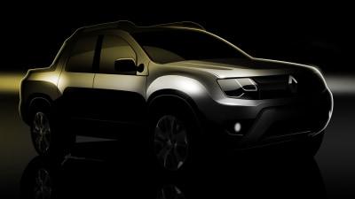 Renault 'U79' Pickup Teased Ahead Of Argentina Unveiling
