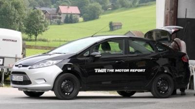 2010 Ford Fiesta Sedan Spied In The US, Australian Release Unclear