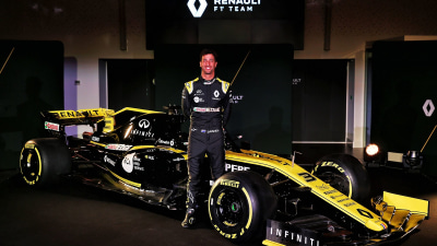 No Shoeys for Ricciardo in 2019