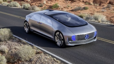 Mercedes-Benz Autonomous Concept Revealed At CES