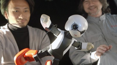 Toyota's Kirobo Robot Off To Space For A Little Chat: Video