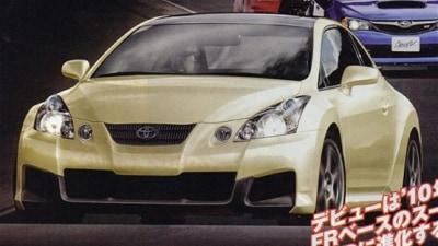 2012 086A 'Toyobaru' Toyota Celica Spied Testing Two Body Styles