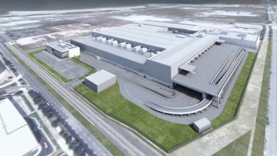 Dyson reveals manufacturing facility