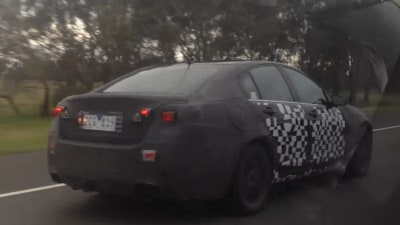 2013 Holden VF Commodore Spied