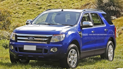 2014 Ford Ranger 7-seat SUV A Rumour No Longer, Now In The Metal: Rendered