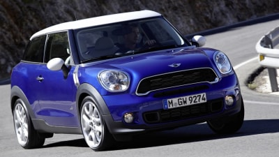MINI Paceman Pricing Announced For Australia, Available From March