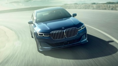 Alpina-tweaked 7-Series gains AWD, hits 330km/h