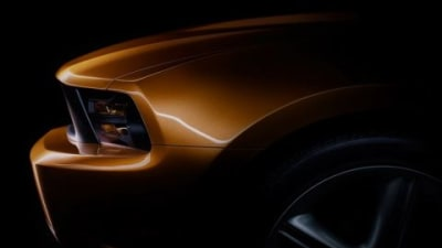 Ford Releases 2010 Mustang Teaser Images