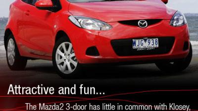 2008 Mazda2 3-door Road Test