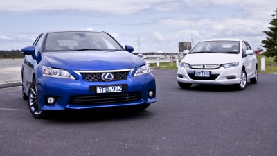 Hybrid Highway Battle: Lexus CT 200h vs Honda Insight