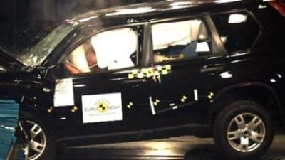 2008 Nissan X-Trail achieves four star Euro NCAP