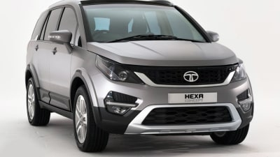 Tata Hexa SUV Revealed In Geneva, Previews New Styling Language