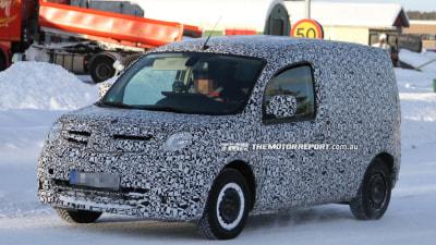 Mercedes-Benz Citan Van Spied Testing