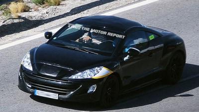 Peugeot 308 RC-Z Spied