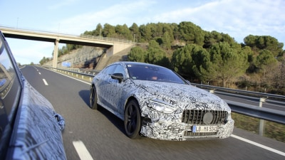 Four-Door Mercedes-AMG GT Nears Production