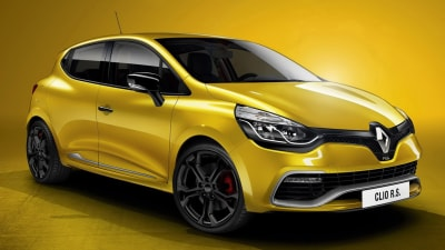 2013 Renault Clio RS 200 Revealed In Paris With 147kW Turbo Four